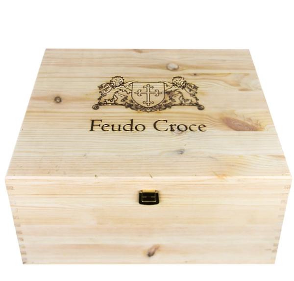 Holz Weinkiste Feudo Croce